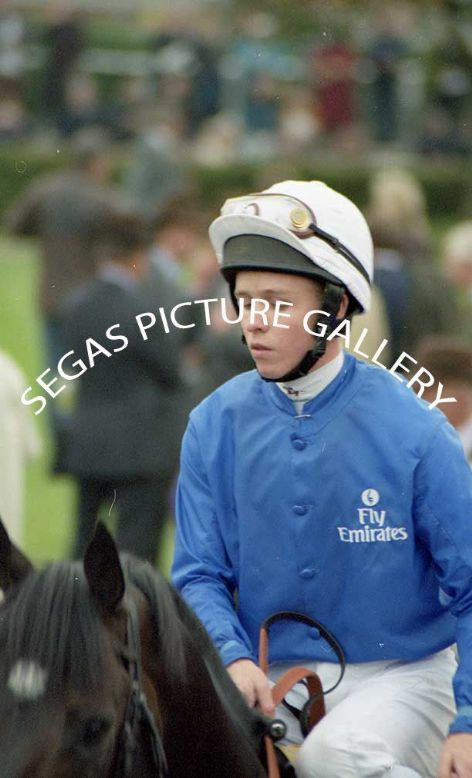 The Jockey Kerrin McEvoy @ Newmarket on the 16th October 2004